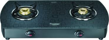 Gas Cooktop Glass Compare Prestige Premia Aluminium Glass Manual Gas Stove Price
