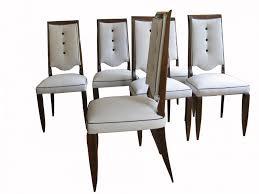 Art Deco Dining Chairs Fresh Antique 6 Art Deco Burr Walnut Dining Chairs C  1920