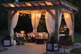 top garden outdoor lighting ideas