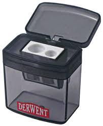 <b>Точилка для карандашей двойная</b> с контейнером, Derwent купить ...