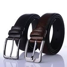 men s high quality buckleless 3 5 cm wide leather automatic belt strap without buckle belt suit accessories