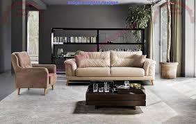 Modern Leather Living Room Sofa Design Ideas