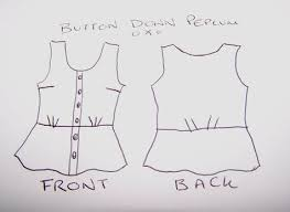 Blouse Sewing Pattern Enchanting 48 Sewing Patterns BurdaStyle