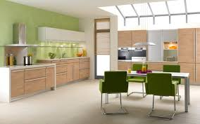 kitchen color decorating ideas. Awesome Ideas For Kitchen Color Set Combination Decorating Design : Clean And Sleek Modern