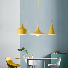kitchen pendant light home yellow