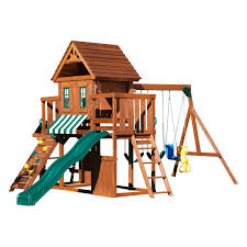 Big Backyard Ashberry Wood Swing Set