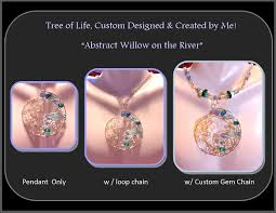 wife gift mother gift mother jewelry push jewelry birthstone jewelry family tree willow tree river