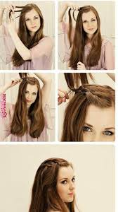 Boho And Hippie Hairstyles Loeyy