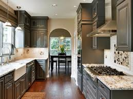 Gray Kitchen Black Kitchen Cabinets Pictures Ideas Tips From Hgtv Hgtv
