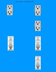 need diagram help on easiest way to wire split receptacles on  need diagram help on easiest way to wire split receptacles on 4 way switch