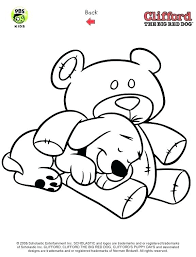 Clifford Easter Coloring Pages Carriembeckerme