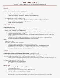 Study Abroad On Resume Resume For Study