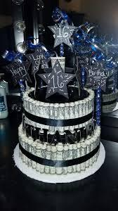 Boy 16th Birthday Money Cake 16th Birthday Boys 16th Birthday