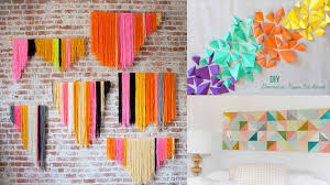 20 DIY Geometric Wall Art Decorations for a Vivid Modern Touch   Home  Design Lover