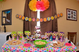 1st birthday party decoration ideas at home