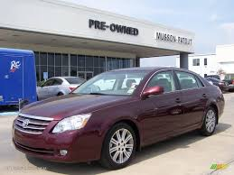 2007 Cassis Red Pearl Toyota Avalon Limited #9327038 | GTCarLot ...