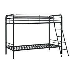 Black metal bunk bed Simple Metal Dhp Elen Black Twin Metal Bunk Bed Home Depot Dhp Elen Black Twin Metal Bunk Bedde81474 The Home Depot