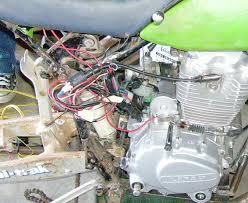 other sneeze fml zaki dirt bike addicts so clean yourself up and buy some connectors and an old multi pin connector put it together so that one side of the harness is all engine and the
