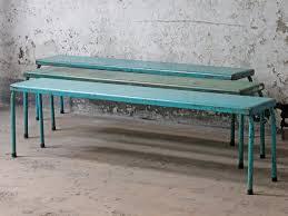 outdoor metal table. Metal Bench Outdoor Table