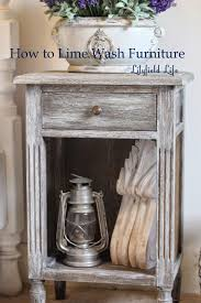 Lime Wash Coffee Table Easy Instructions How To Lime Wash Furniture By Lilyfield Life