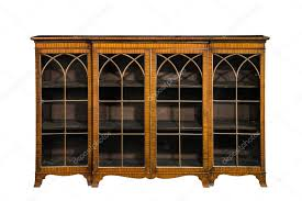 bookcase cabinet antique vintage with