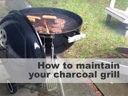 quick tips for cleaning your charcoal grill