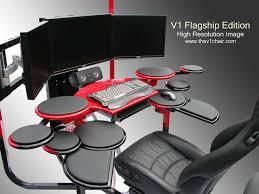 futuristic custom desk vision one computer desk