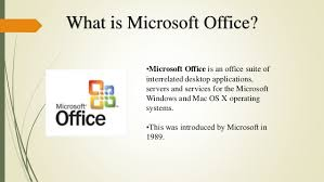 Msoffice Introduction