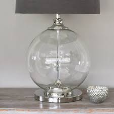 full size of alluring table lamps large clear glass lamp holmegaard ideasn base homebase modern wood