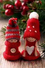 Christmas Decor  Knit Christmas Tree Ornament craft ideas. (5)_resize