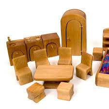 cheap wooden dollhouse furniture. Complete Dollhouse Furniture Set Cheap Wooden O
