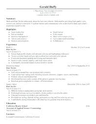 Beauty Therapist Resume Resume Of A Beauty Therapist Creative Cover ...