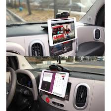 tablet in car dashboard