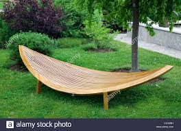 modern wooden outdoor furniture. Fine Furniture Sleek Modern Garden Furniture Made Of Wood And Varnished  Stock Image On Modern Wooden Outdoor Furniture Y