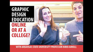 Asu Graphic Design Should You Learn Graphic Design Online Or At A College With Asu Professor Nikki Arnell