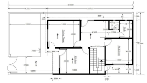 cad block of house plan setting out detail cadblocksfree cad within free autocad house plans dwg