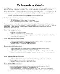 work statements examples general resume objective statement samples job objectives for