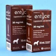 Entyce Dosing Chart Entyce Capromorelin Oral Solution 30mg Ml