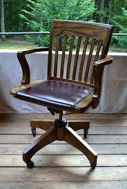 vintage swivel desk chair antique wooden office chair antique furniture old wooden swivel office chair