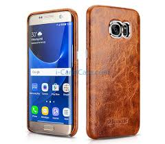 icarer galaxy s7 edge oil wax cover 10 jpg