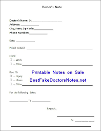 Make Fake Doctors Note Free A Template Pdf Juegame