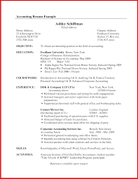 Accounting Resume Examples Electronic Assembler Cover Letter