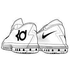 Behind View Jordan Shoes Coloring Pages Coloringsuitecom