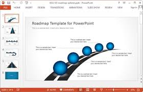 road map powerpoint template free roadmap ppt free download free project roadmap template powerpoint