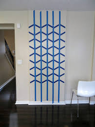Interior and Exterior:Wall Paint Design Ideas With Tape Interior Design 2  painters tape designs