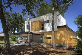 Modern Tree Houses Bold And Modern U Shaped Courtyard House Designed Around Trees