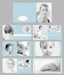 Baby Photo Album Books Baby Blue Photo Album Photo Book Template Set 10x10 Can Be