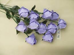 Folding Paper Flower Free Shipping 5 72 Piece Buy Wholesale Origami Paper Folding