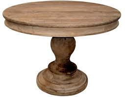 excellent rustic wood round dining table design home exterior julian miles for solid wood round dining table ordinary