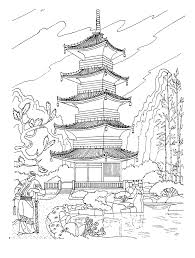 Coloring Page Japan